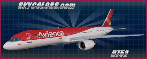 AI Aardvark (AIA) 757-200 Avianca EI-CEY (old colors)