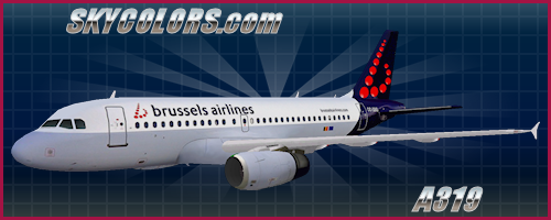 AI traffic repaint: Brussels Airlines A319-100