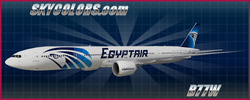 The Fruit Stand (TFS) 777-300ER Egyptair SU-GDL