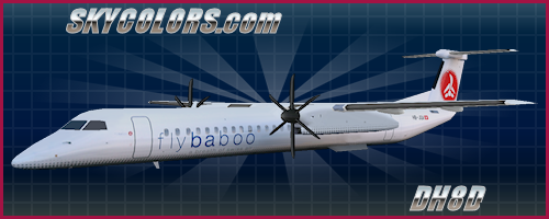 FSPainter (FSP) Repaints for FSX & FS2004 AI Traffic - SKYCOLORS