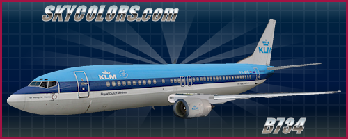 FFX/SGA 737-400 KLM PH-BTG (old colors)