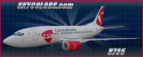 Vistaliners Boeing Liveries for FSX - SKYCOLORS